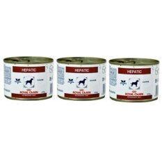 ราคา Royal Canin Hepatic กระป๋อง 200G สำหรับสุนัข 3 กระป๋อง ออนไลน์ กรุงเทพมหานคร