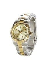 ราคา Royal Crown นาฬิกาข้อมือสุภาพสตรี สายสแตนเลส รุ่น 3662L Gold Silver Royal Crown ออนไลน์