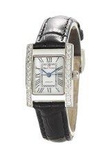ขาย ซื้อ ออนไลน์ Royal Crown นาฬิกาผู้หญิง สีดำ สายหนัง รุ่น 6306 Le