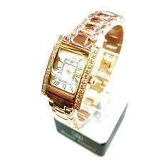 ทบทวน Royal Crown นาฬิกาข้อมือผู้หญิง สายสแตนเลสชุบทองอย่างดี รุ่น 6306 Ssl Pink Gold