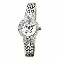 ขาย Royal Crown นาฬิกาประดับเพชรสสุภาพสตรี สายสแตนเลส รุ่น 3844 Ssl สี Silver Royal Crown ผู้ค้าส่ง