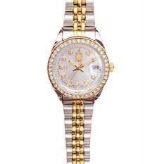 ซื้อ Royal Watch Ea9464 70L นาฬิกาข้อมือผู้หญิง เรือน 2 กษัตริย์ ตราสัญลักษณ์ฉลองสิริราชสมบัติครบ ๗๐ ปี Royal ถูก