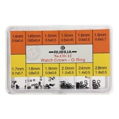ราคา Rubber Watch Tube Crown O Ring Box Set 1 4 To 2 8 Mm For Waterproof Watches Seal Intl จีน