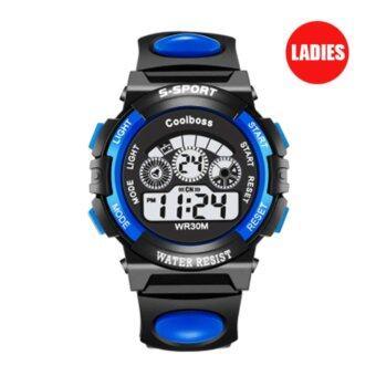 S SPORT นาฬิกาข้อมือ หญิง-เด็ก กันน้ำได้ดี CX0119 (Blue)