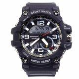 ขาย S Sport นาฬิกาข้อมือ กันน้ำได้ ใส่ได้ทั้งชายและหญิง Gp9214 Pure Black เป็นต้นฉบับ