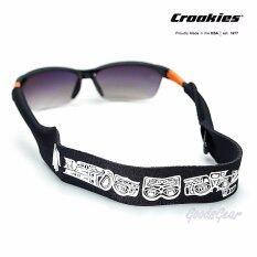 ราคา สายคล้องแว่น Croakies Xl รุ่น N Grained Prints Killer Whale Eagle ใหม่ ถูก