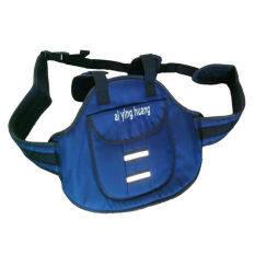 สายรัดนิรภัยกันเด็กตกรถมอเตอร์ไซต์ แบบกระเป๋าเป้สะพายหลัง สีน้ำเงิน กรม เป็นต้นฉบับ