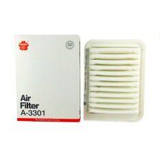 ซื้อ Sakura Air Filter กรองอากาศ Toyota รุ่น Altis 2008 Vios 2008 Yaris 2008 ใหม่ล่าสุด