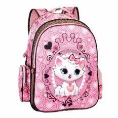 ขาย Sami Children Cartoon Cat Kids Sch**l 1 3 Grades Backpacks For Girls Intl ใน จีน