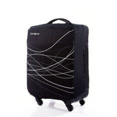 ขาย Samsonite ถุงคลุมกระเป๋า Foldable Luggage Cover M สี Black Samsonite ออนไลน์