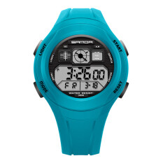 ราคา Ttlife New Arrival Sanda 331 Primary Sch**l Students Kids Candy Color Waterproof Sports Watch Lake Blue เป็นต้นฉบับ