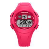 โปรโมชั่น Ttlife New Arrival Sanda 331 Primary Sch**l Students Kids Candy Color Waterproof Sports Watch Red Sanda ใหม่ล่าสุด