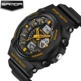 ขาย นาฬิกาแบรนด์ Sanda นาฬิกาเวลาจำกัดขายร้อนแฟชั่นผู้ชาย G สไตล์กีฬากันน้ำนาฬิกาทหารนาฬิกา Luxury Analog Digital 241 Sanda เป็นต้นฉบับ
