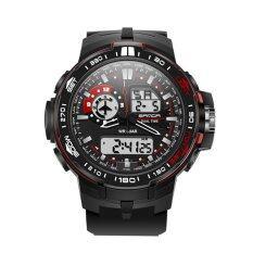 ส่วนลด Sanda Men Watches Multi Functional Outdoor Sports Watch Led Luminous Display Electronic Movement Quartz Movement Male Wristwatch Intl