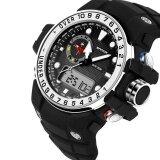 ราคา Sanda กลางแจ้งกีฬานาฬิกาผู้ชายทหารนาฬิกาข้อมืออิเล็กทรอนิกส์กันน้ำกันกระแทก Led Digital Shock นาฬิกาข้อมือ ใหม่
