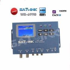 ซื้อ Satlink Ws 6990 Hd Av อินพุตเดี่ยวช่อง Dvb T Modulator ขนาดกะทัดรัดและติดผนังดาวเทียม Satlink วิทยุ Radiox มิเตอร์ดิจิตอล สนามบินนานาชาติ ถูก จีน
