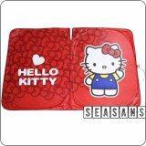 ราคา Seasans ม่านบังแดดกระจกหน้ารถยนต์ กันรังสี Uv I Am Kitty สีแดง ใหม่