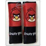ขาย Seat Belt Cover หุ้มสายคาดเบลท์นิรภัยรถยนต์ Angry Birds สีดำ แดง Seasans ออนไลน์