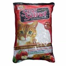 ทรายแมว See Sand Apple  5 ลิตร