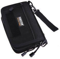 ขาย Seibertron Tactical Molle Compact Bdu Wallet Carry Case Holster Phone Holder Black Intl Seibertron ผู้ค้าส่ง