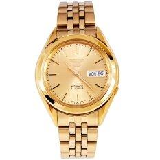 โปรโมชั่น Seiko 5 Automatic นาฬิกาข้อมือผู้ชาย สีทอง รุ่น Snkl28K1 Thailand