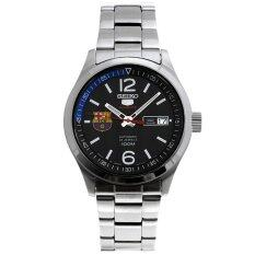 ซื้อ Seiko 5 New Fc Barcelona Edition Men Watch Stainless Strap รุ่น Srp301J1 Black ออนไลน์