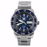 โปรโมชั่น Seiko 5 Series Automatic Blue Dial Diver Watch Snzh53J1 Made In Japan Seiko