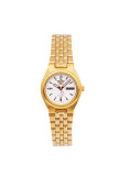 Seiko 5 Sport Automatic นาฬิกาข้อมือผู้หญิง สายสแตนเลส รุ่น Syma22K1 White Gold เป็นต้นฉบับ