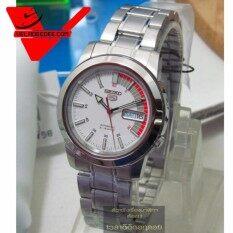 ราคา ราคาถูกที่สุด Seiko 5 Sport Automatic นาฬิกาข้อมือผู้ชาย สายสแตนเลส รุ่น Snkk25K1