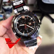 ซื้อ Seiko 5 Sports 60Th Anniversary Limited Edition Automatic Watch นาฬิกาข้อมือชาย สายสแตนเลส รุ่น Ssa315K1 Seiko เป็นต้นฉบับ