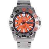 ขาย Seiko 5 Sports Automatic Men S Watch Silver Orange Steel Strap Srp483J1 ราคาถูกที่สุด
