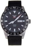 โปรโมชั่น Seiko 5 Sports Automatic นาฬิกาข้อมือผู้ชาย สีดำ สายผ้า รุ่น Srp667K1