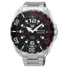 ขาย นาฬิกาข้อมือ Seiko 5 Sports Automatic New Baby Monster Srpb35K1 Black ถูก ใน บุรีรัมย์