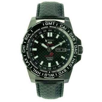 SEIKO 5 Sports Automatic SRP723K1 black kevlar Limited Edition-