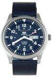 ราคา Seiko 5 Sports Men Automatic นาฬิกาข้อมือผู้ชาย สีน้ำเงิน สายผ้า รุ่น Snzg11K1 ออนไลน์ บุรีรัมย์