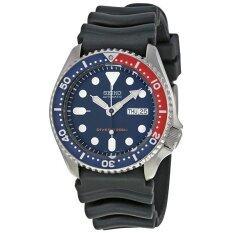 โปรโมชั่น Seiko Automatic Diver 200M นาฬิกาผู้ชาย รุ่น Skx009K1 สีน้ำเงิน แดง Seiko