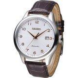 ขาย Seiko Automatic นาฬิกาข้อมือผู้ชาย สีเงิน สีpinkgold สีน้ำตาล สายหนัง รุ่น Srp705K1 ถูก Thailand