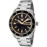 ทบทวน Seiko Automatic Sports Mens Diver Watch Snzh57K1 Intl Seiko