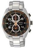 ทบทวน ที่สุด Seiko Criteria Chronograph Sapphire นาฬิกาข้อมือผู้ชาย สีเงิน ดำ สายสแตนเลส รุ่น Sndd37P1