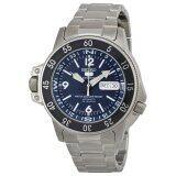 ซื้อ Seiko นาฬิกาข้อมือผู้ชาย Dark Blue Dial Watch Skz209J1 ถูก ใน ไทย