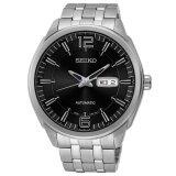 ซื้อ Seiko Jumbo Size Automatic Men S Watch สายสแตนเลส รุ่น Snkn47K1 สีเงิน สีดำ ออนไลน์