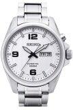 โปรโมชั่น Seiko Kinetic นาฬิกาข้อมือผู้ชาย สีเงิน สายสแตนเลส รุ่น Smy135P1 Seiko