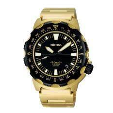 ราคา Seiko Land Monster นาฬิกาข้อมือผู้ชาย สายสเตนเลส รุ่น Sarb048 Gold เป็นต้นฉบับ