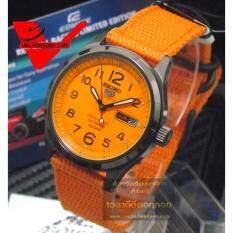 ขาย Seiko Men New Millitary Special Edition นาฬิกาข้อมือชาย รุ่น Srp503K1 ระบบ Automatic ส้ม Seiko เป็นต้นฉบับ