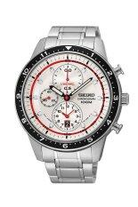 ซื้อ Seiko นาฬิกา Men Stainless Strap Chronograph Sndf35P1 Silver Seiko