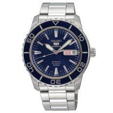 ซื้อ Seiko Men S 5 Stainless Steel Strap Sports Watch Snzh53J1 Intl ใหม่