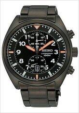 ราคา Seiko Motor Sport Chronograph รุ่น Snn237P1 Black ถูก
