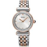 ซื้อ Seiko นาฬิกาข้อมือผู้หญิง สีเงิน สีpinkgold สายสแตนเลส 2 กษัตริย์ รุ่น Srz466P1 ออนไลน์ Thailand