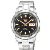ราคา Seiko นาฬิกาข้อมือ รุ่น Snkk17K1 Silver Black ราคาถูกที่สุด