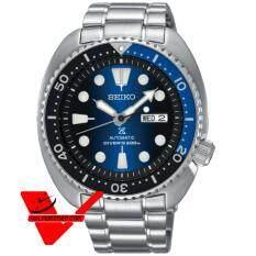 ทบทวน Seiko Prospex Turtles นาฬิกาข้อมือผู้ชาย สายสแตนเลส รุ่น Srpc25K1 Seiko